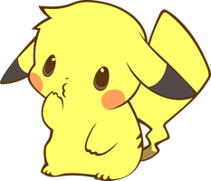 Pikachu Vector by PaperJoey