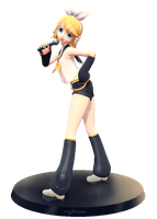 [MMD] Rin Figure Pose - DL by Snorlaxin