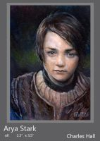 arya stark by charles-hall