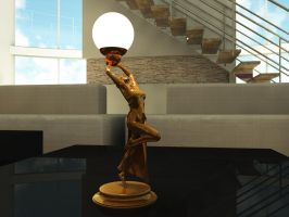 Deco Lamp 2 by Lxxi