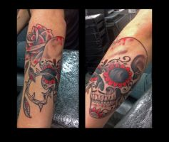 Sugar Skull by HowComeHesDead