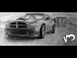 Fast Five Vault Dodge Charger by vinyo