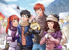 Hogsmeade by Aleccha