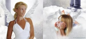 Angel in training detail by Paigesmum