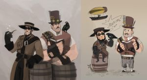 Steampunk WIP by Kethavel
