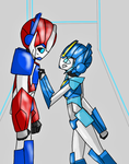 DG and Irax fight (Part 9) by Emilly2