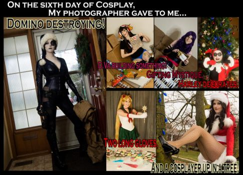On the sixth day of Cosplay... by Lossien