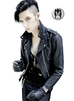 Andy Biersack - Render 3 by Brokenseed