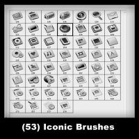 53 - 3D Iconic Brushes by psologist