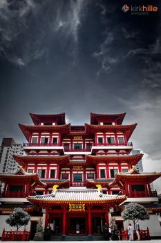 Buddha Tooth Relic Temple by Furiousxr
