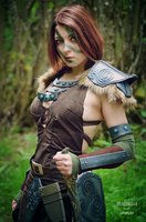 Aela the Huntress - Skyrim Cosplay by Dragunova-Cosplay