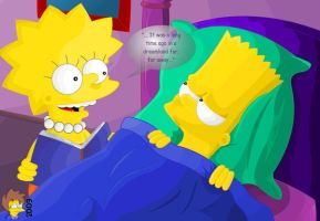 Good Night Bart by DandX
