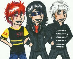 Gerard 10 years by zaki-mizer