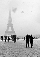 White Paris 02 by Yousry-Aref