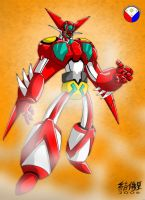 SHIN GETTER ROBOT by WOLVERINE76