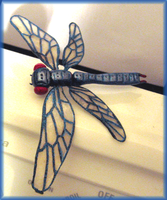 Dragonfly pin by HollieBollie