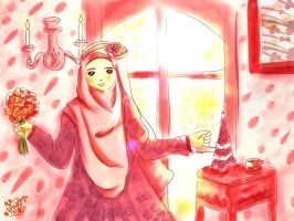 beautyful with hijab by fiyalayanfa2