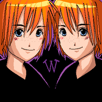 Fred and George by mione2