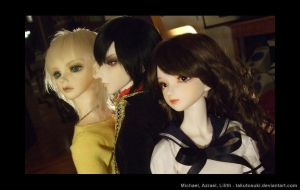3 dolls - Soap Opera by hyacinthess