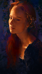 Evening Portrait by AaronGriffinArt