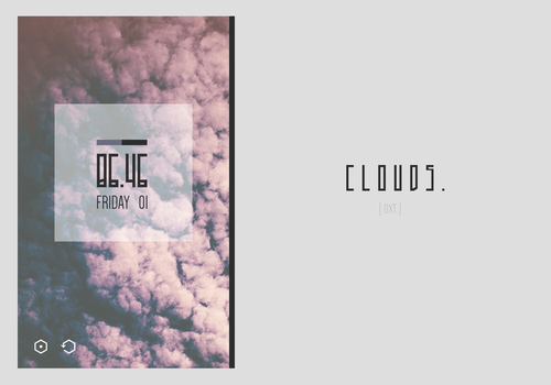 Clouds. by Obeythe10