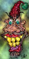 Funny Clown... Art Work by arihoff
