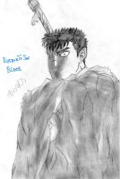 Guts frontview - Berserk by NothinToSay