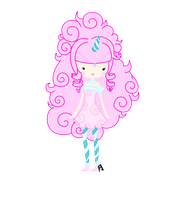 Princess Cotton Candy by su-i-cide-kid