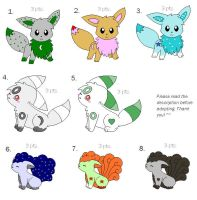 Point Adoptables :OPEN: by Espeon2Glaceon