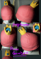 For Sale: Fleece Hat: Prince Gumball by PurgatorianHeir