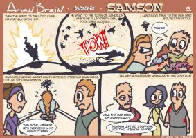 arien brain: samson page6 by therealarien