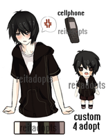 [ ADOPT ] Custom: SasuIsGay by reitadopts