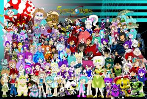 dux heroes stand together 2014 update by Archfiend-dux