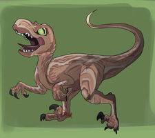 Raptor Not Bean That Much Cute by HangedFlag