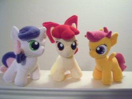 The Cutie Mark Crusaders by PonyPoni