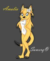 Amalia The Dog by solralis