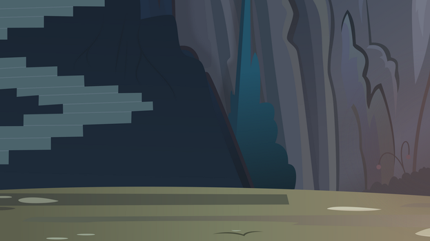 Cave Background by Budgeriboo