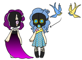 Masked Adopts - CLOSED by Supertato