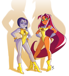 The Ladies of Legs by NickSwift