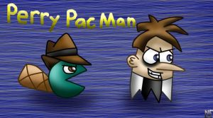 Perry Pac-Man by Honeysucle10