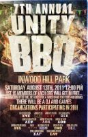 Unity BBQ Party Flyer by V1sualPoetry