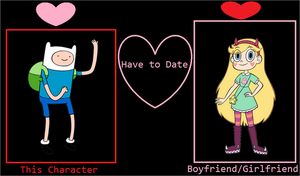 Romance Base - Finn and Star Butterfly by MarcosPower1996