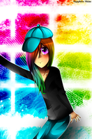 Check Out My Rainbow Destiny by SapphireShine