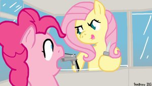 FlutterShy plays GTA 5 by 9mmBrony