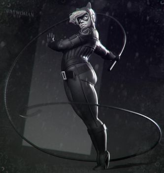 Catwoman Wip 003 by DuncanFraser