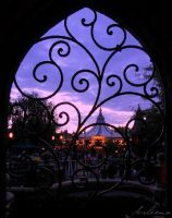 Fantasyland Sunset by Anawielle