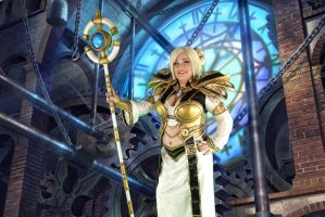 Chromie from World of Warcraft at Amazing Arizona by Littlesparkz
