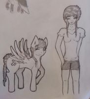 Me and myself as pony by Itamichiro