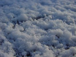 Snow Close-up by MedeaMelana
