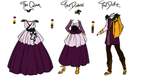 .: Vitis Family Royal Attire :. by CandleGlass